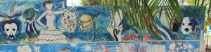 Graffiti en Villa Clara